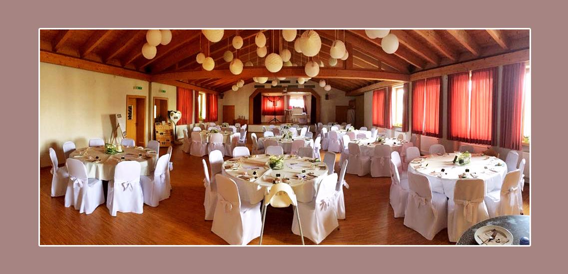 Dekoidee Hochzeitsdeko Bürgersaal Brendlorenzen Bad Neustadt an der Saale Bad Kissingen