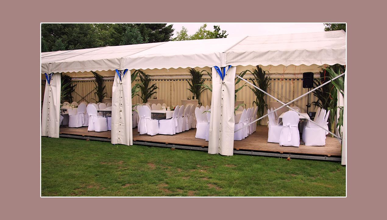 Hochzeitszelt Hochzeitsdeko Weiß Niederkrüchten Mönchengladbach