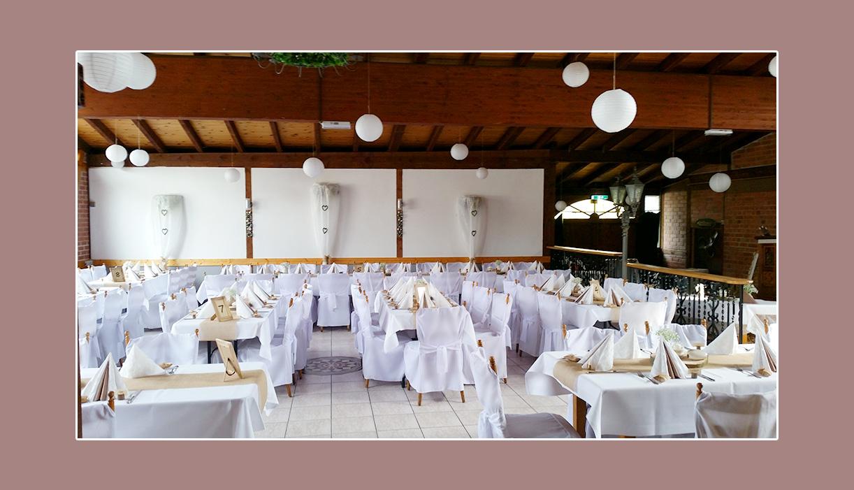 Deko Landhaus Siebe Hattingen Hochzeit NRW